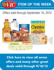 e-VIC Item of the Week -  Take advantage of these great e-VIC Member Specials!