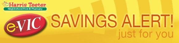 e-VIC Savings Alert - Save BIG!